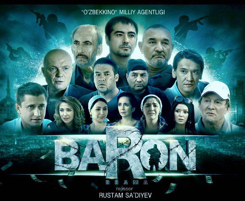 Baron uzbek kino 2016 Барон янги узбек кино 2016